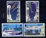 miniature JERSEY - 429/432** - EUROPA / TRANSPORT ET COMMUNICATION