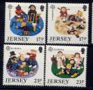miniature JERSEY - 474/477** - EUROPA / JEUX D'ENFANTS