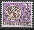 miniature France Préobl 1971 Y&T N° 130 neuf sans gomme -Monnaie gauloise