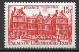 miniature France 1948 Y&T 804 neuf sans charnière - Palais du Luxembourg (scan dos)