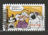 miniature France 2006  YT YT AA 893 du carnet  Sourires Cubitus  cahet rond
