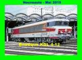 miniature AL 578 - Loco CC 6573 au dépôt - PARIS CHAROLAIS - SNCF