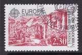 miniature TIMBRE OBLITERE D'ANDORRE FR. - EUROPA 1990 : BUREAU DE POSTE ANCIEN N° Y&T 388