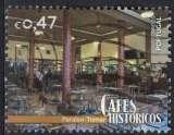 Portugal 2016 Oblitéré Used Cafés Históricos Cafés Historiques Paraíso Tomar SU