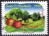 miniature France - 2009 - Y&T n° AA 299 - Obl. - La Pomme - Flore des régions - Basse Normandie