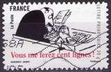 miniature France - 2009 - Y&T n° AA 362 - Obl. - Petit Nicolas - Goscinny - Sempé - Vous me ferez cent lignes