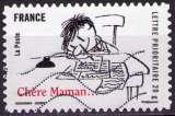 miniature France - 2009 - Y&T n° AA 366 - Obl. - Petit Nicolas - Goscinny - Sempé - Chère Maman