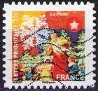 miniature France - 2010 - Y&T n° AA 494 - Obl. - Meilleurs Vœux