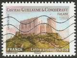 miniature France - 2012 - Y&T n° AA 714 - Obl. - Château Guillaume-le-Conquérant - Falaise - Normandie