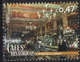 Portugal 2016 Oblitéré Used Cafés Históricos Cafés Historiques A Brasileira Lisbonne SU