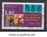 miniature TIMBRE OBLITERE DE FRANCE - CINQUANTENAIRE INSTITUT NATIONAL DE LA RECHERCHE AGRONOMIQUE N° Y&T 3001