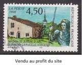 miniature TIMBRE OBLITERE DE FRANCE - MAISON DE JEANNE D'ARC A DOMREMY-LA-PUCELLE N° Y&T 3002