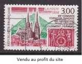miniature TIMBRE OBLITERE DE FRANCE - CATHEDRALE DE CLERMONT-FERRAND N° Y&T 3004