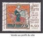 miniature TIMBRE OBLITERE DE FRANCE - DE LA GAULE A LA FRANCE : SAINT-MARTIN N° Y&T 3078