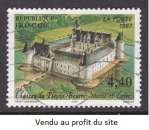 miniature TIMBRE OBLITERE DE FRANCE - CHATEAU DU PLESSIS-BOURRE N° Y&T 3081