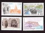 miniature France 1990 Y&T 2657 à 2660 ** série touristique cote 6,00€