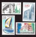 miniature France 1990 Y&T 2645 - 2647 - 2648 - 2661 ** Institut monde arabe, Villefranche sur Saône...