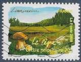 miniature FRANCE 2009 : yt 304 Oblitéré/Used # Flore des régions - Limousin - Le Cêpe