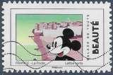 miniature FRANCE 2018 : yt 1586 Oblitéré/Used  # Mickey - Balade de toute beauté