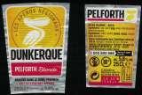 miniature France Lot 2 Étiquettes Bière Beer Labels Pelforth Blonde Tour des Apéros Dunkerque