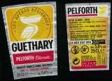 miniature France Lot 2 Étiquettes Bière Beer Labels Pelforth Blonde Tour des Apéros Guethary