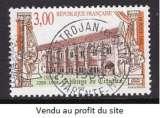 TIMBRE OBLITERE DE FRANCE - 900 ANNIV. DE LA FONDATION DE L'ABBAYE DE CITEAUX N° Y&T 3143