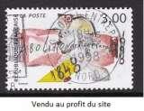 TIMBRE OBLITERE DE FRANCE - 150E ANNIVERSAIRE DE L'ABOLITION DE L'ESCLAVAGE N° Y&T 3148