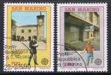 miniature PAIRE OBLITEREE DE ST-MARIN - EUROPA 1990 : BATIMENTS POSTAUX D'HIER ET AUJOURD'HUI N° Y&T 1226/1227