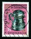 miniature TIMBRE OBLITERE D'AUTRICHE - 175E ANNIVERSAIRE DES CAISSES D'EPARGNE EN AUTRICHE N° Y&T 1967