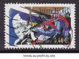 TIMBRE OBLITERE DE FRANCE - GRANDS INTERPRETES DE JAZZ : SIDNEY BECHET N° Y&T 3501