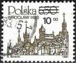 miniature Pologne 1982 - Ville polonaise : Wroclaw ( Mi 2817 - YT 2631 )