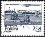 miniature Pologne 1982 - La Vistule à Gdansk ( Mi 2835 - YT 2653 )