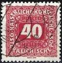miniature Autriche 1916 - Taxe ( Mi P53B - YT T55 )