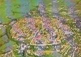 miniature Stadt NÖRDLINGEN : Vue aérienne
