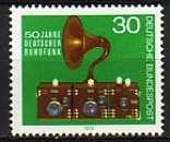 miniature RFA 1973  Y&T  635  N**
