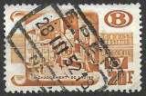 miniature Belgique Colis postaux 1950-52 Y&T 329 oblitéré