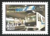 miniature Algérie - 2011 - Bloc - Y&T n° 17 - Timbre 1 - Neuf** - Le Métro d'Alger