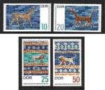 miniature ALLEMAGNE DDR 1966 N° 926 à 929 * * Neufs. Réf. 16239
