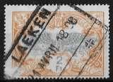 miniature Belgique - Chemins de fer - Y&T 41 (o) - Roue ailée - année 1902