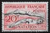 miniature France 1953 - Y&T 960 (o) - Natation