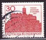 miniature Allemagne 1967 YT 409 Obl 450 ans des thèses de Luther