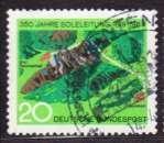 miniature Allemagne 1969 YT 465 Obl 350 ans conduite eau salée Bad Reichenhall Trauenstein