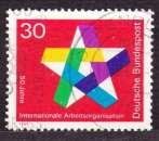 miniature Allemagne 1969 YT 445 Obl Centenaire OIT