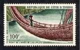 miniature COTE D'IVOIRE 1965 P.A. N° 34 * * Neuf. Réf. 16617