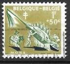 Belgique 1959 Y&T 1115 oblitéré - Mons