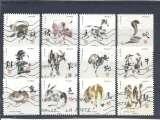 miniature FRANCE 2017   Signes astrologiques Chinois   Série compléte