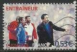 miniature France 2006 - Coupe du Monde de football - Entraîneur - 3908 oblitéré .