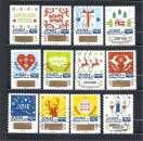 miniature 2018  Voeux timbres à gratter Série compléte