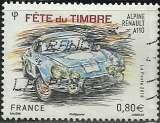 miniature France 2018 - Alpine Renault - N° 5204 oblitéré .