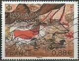miniature France 2019 - Lascaux Dordogne - N° 5318 oblitéré .